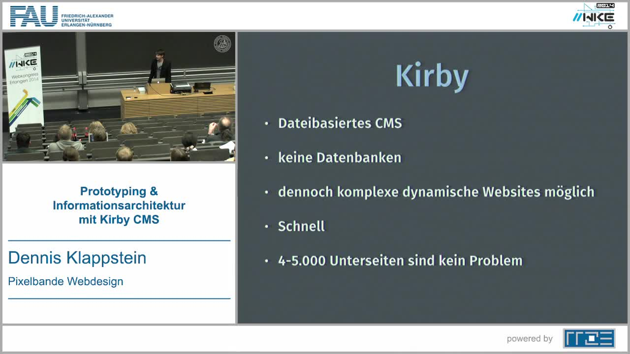CMS - Prototyping und Informationsarchitektur mit Kirby CMS preview image