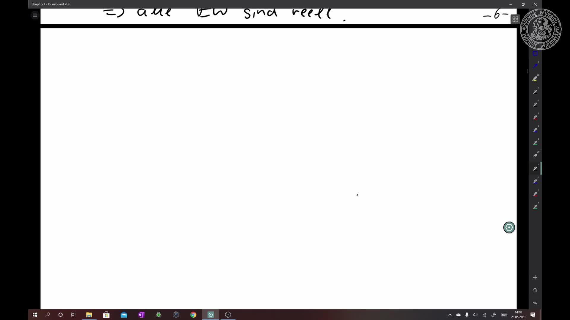 Normalform selbstadjungierter Endomorphismen preview image