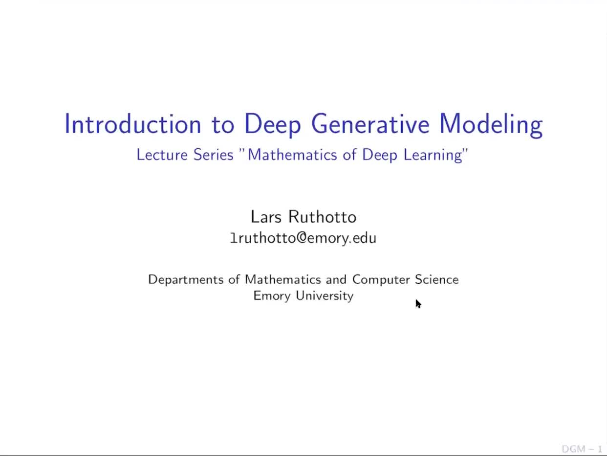 An Introduction to Generative Modeling preview image