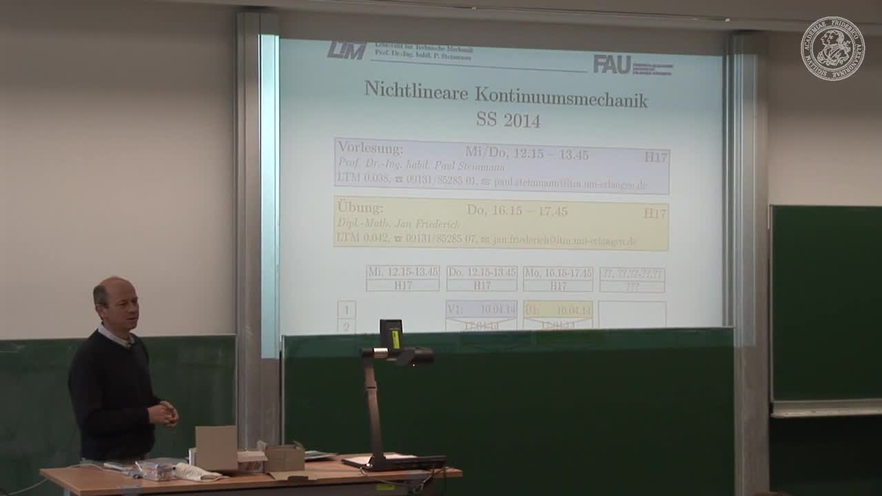 Nichtlineare Kontinuumsmechanik (NLKM) preview image