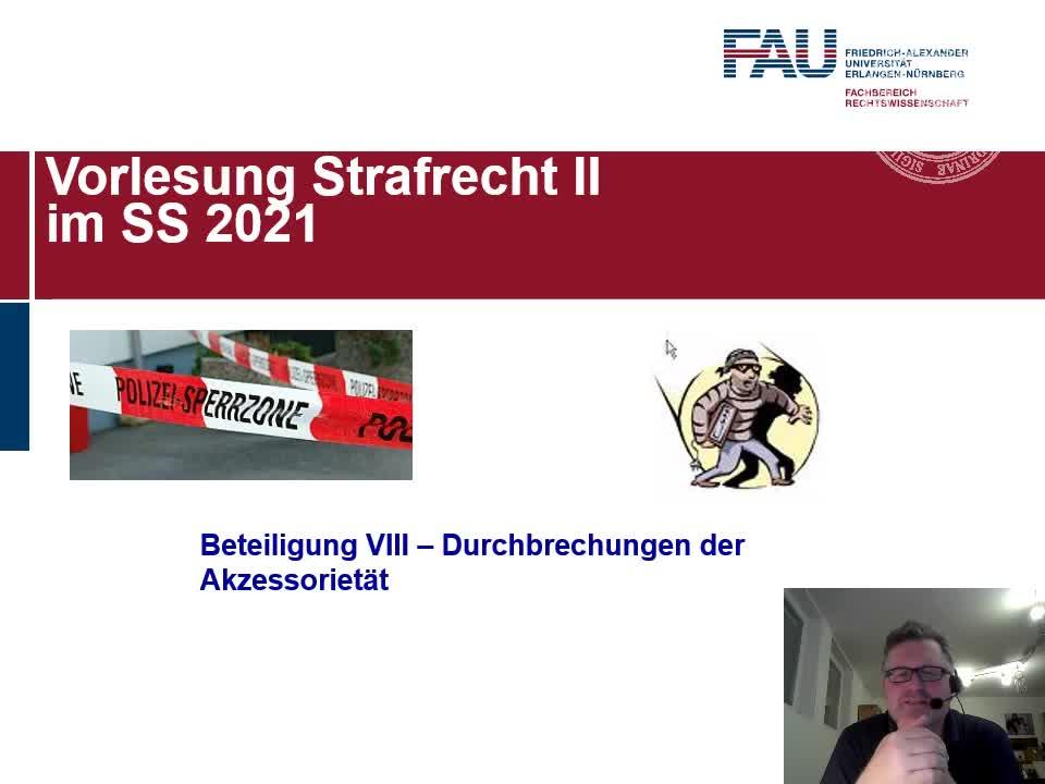 Beteiligung VIII (Durchbrechungen der Akzessorietät) preview image