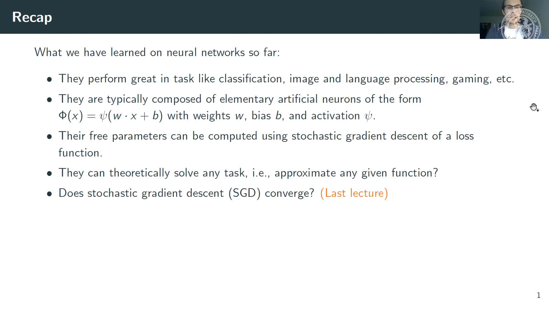Adversarial Attacks and Robustness of Neural Networks preview image