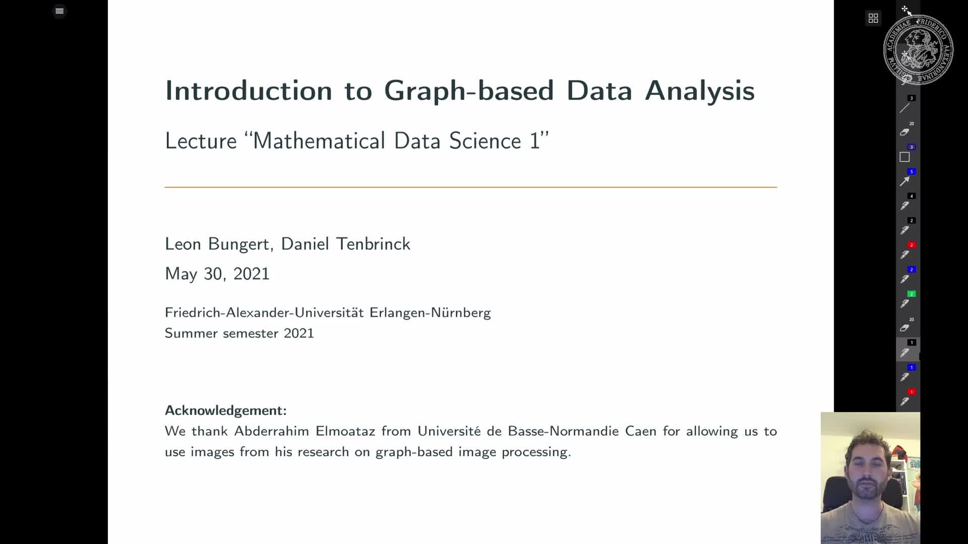 Introduction to Graph-based Data Analysis preview image