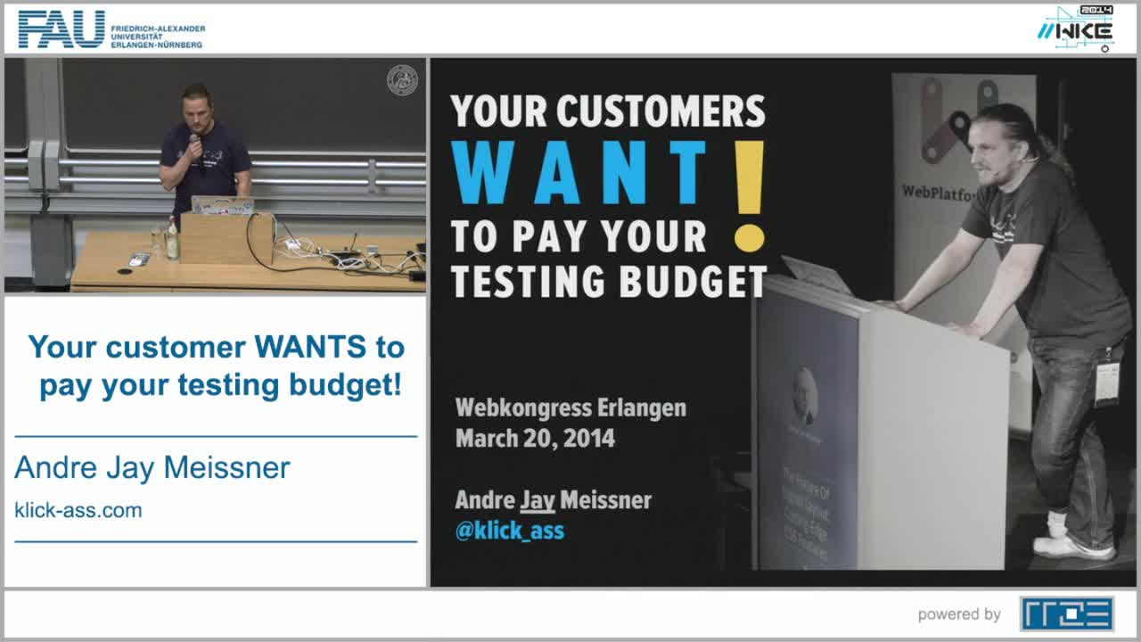 Your customer WANTS to pay your testing budget! preview image