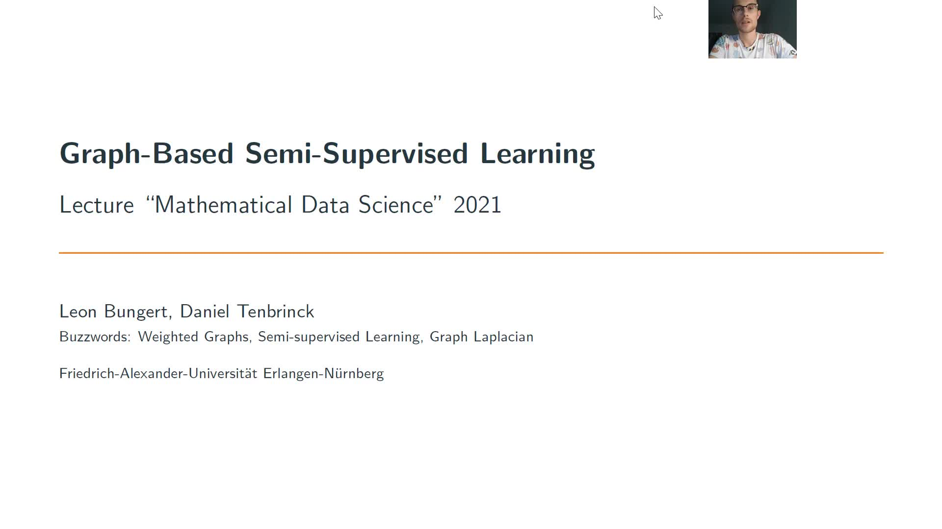 Graph-Based Semi-Supervised Learning preview image