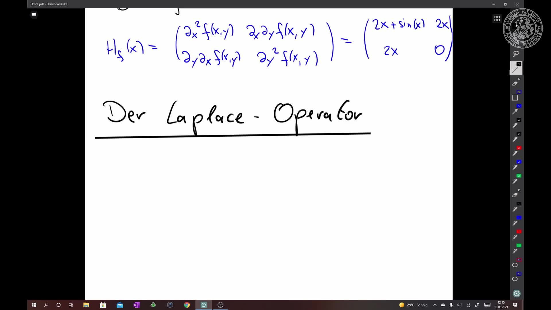 Der Laplace-Operator preview image