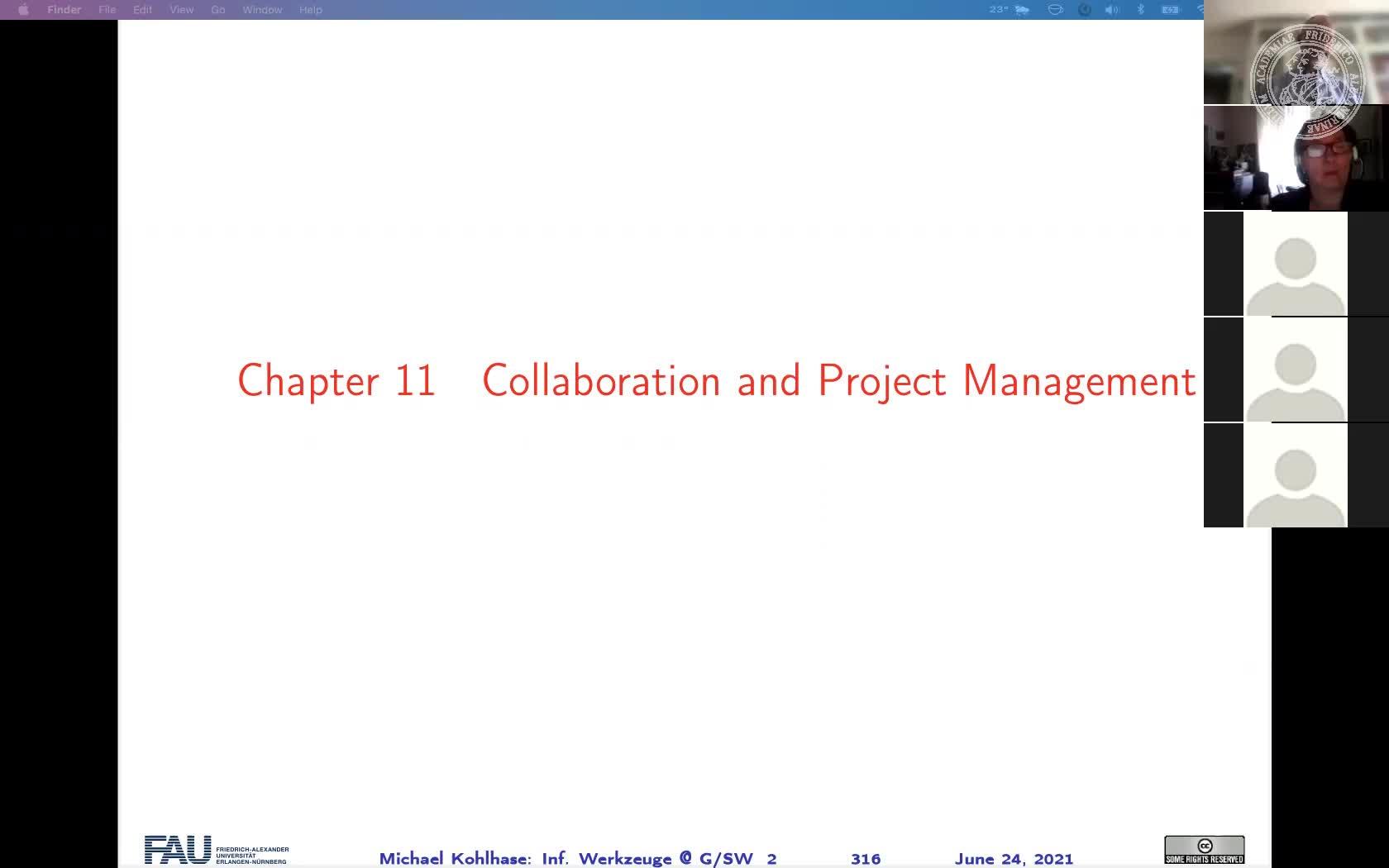 Informatische Werkzeuge in den Geistes- und Sozialwissenschaften (IWGS) II preview image