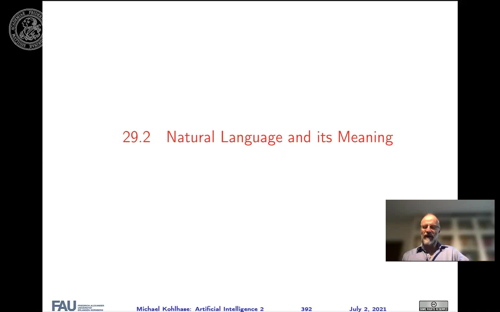 29.2 Natural Language and its Meaning preview image