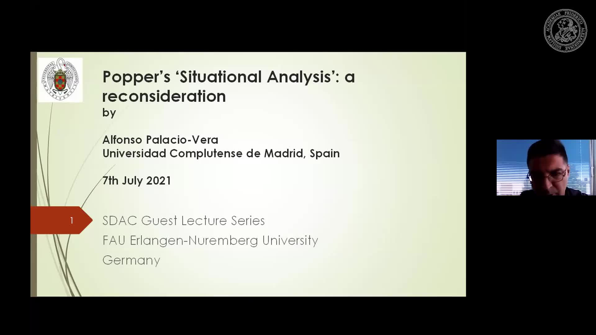 Alfonso Palacio-Vera (Complutense University of Madrid):