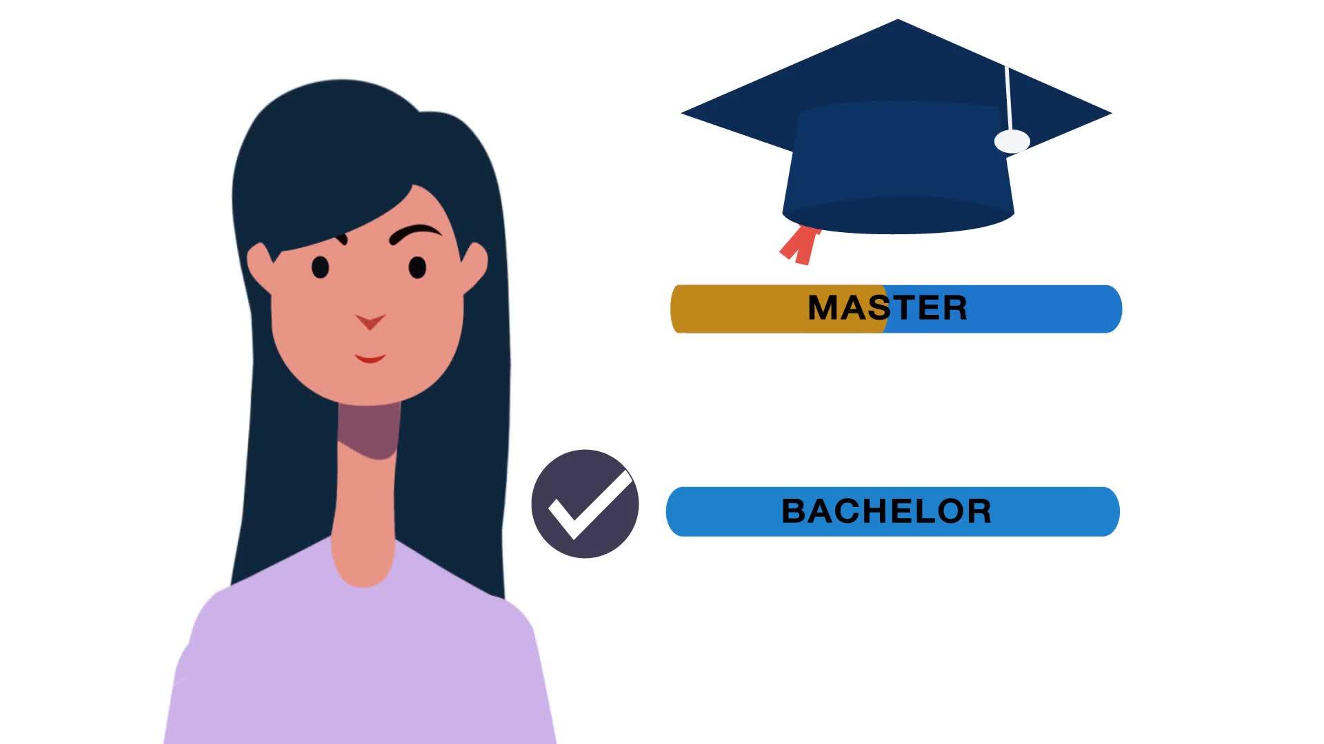 Übergang vom Bachelor- zum Masterstudium preview image