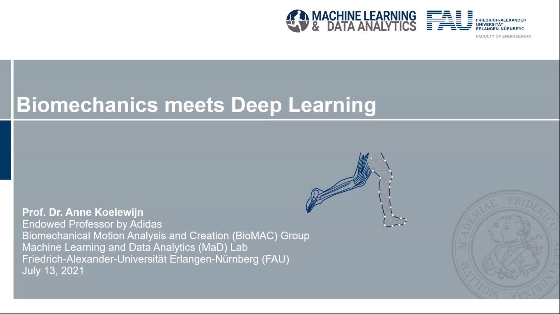 Biomechanics meets Deep Learning preview image