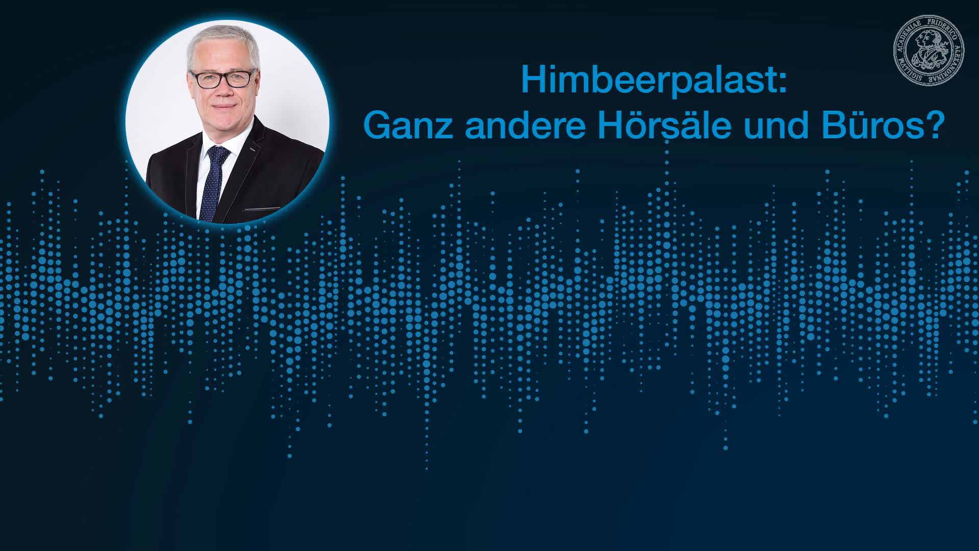 Himbeerpalast: Ganz andere Hörsäle und Büros? preview image