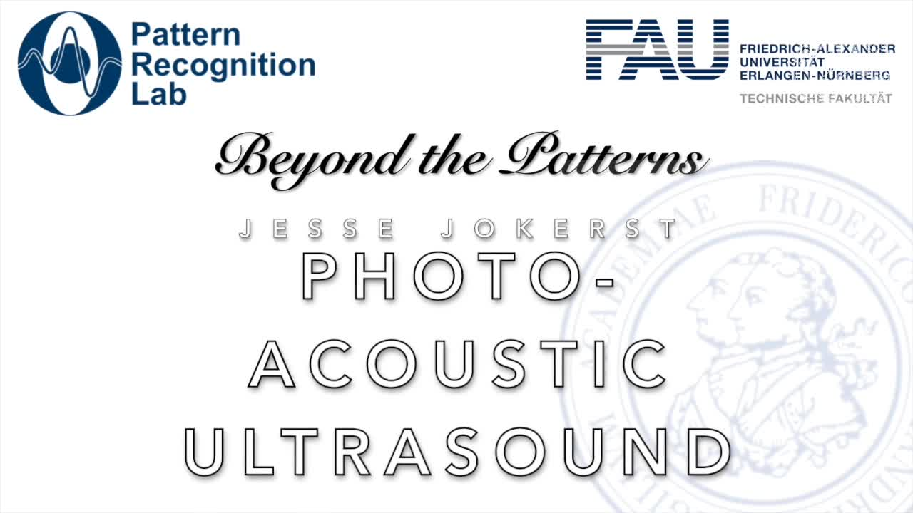 Beyond the Patterns - Jesse Jokerst - Photoacoustic Imaging in Medicine preview image