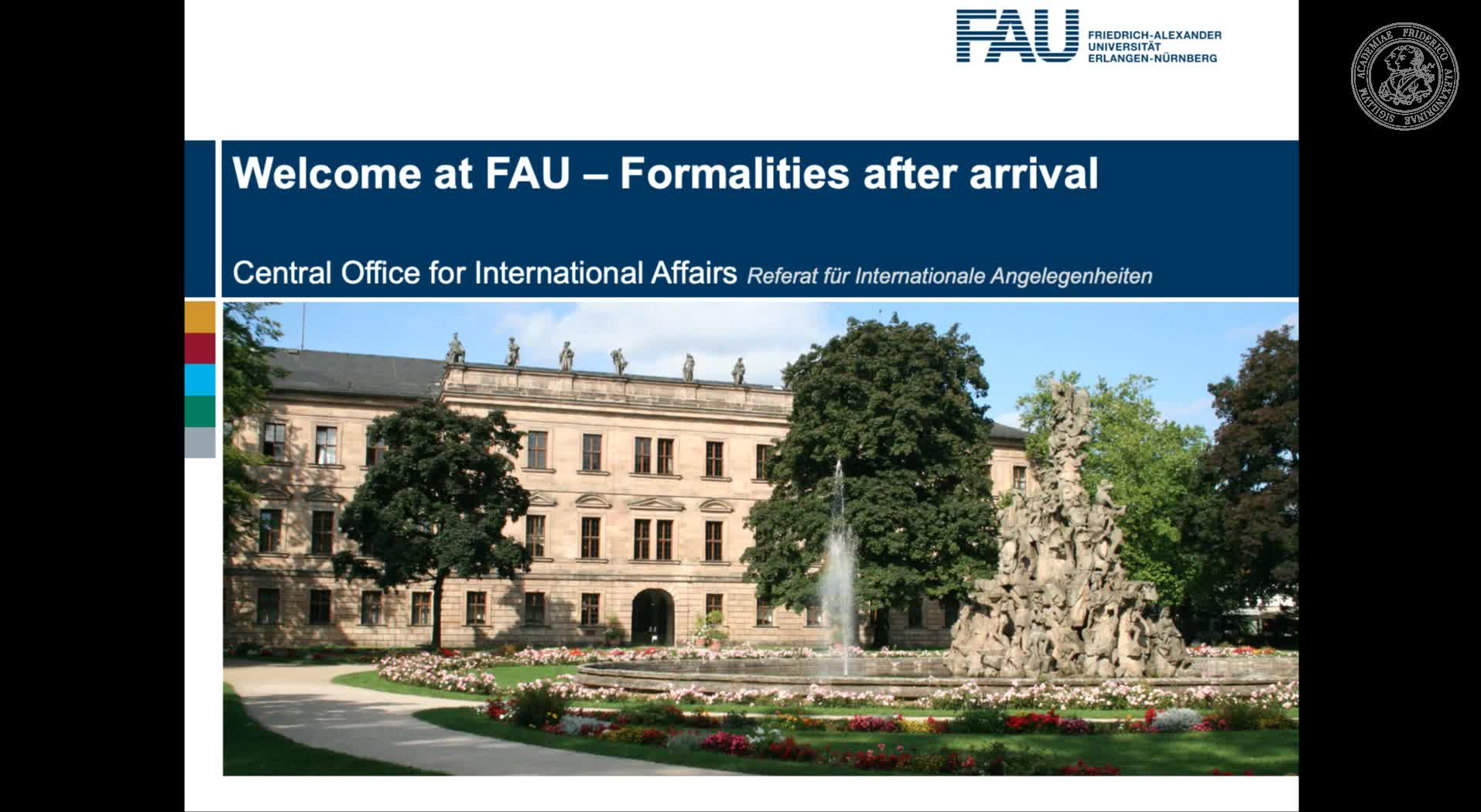 Formalities after your enrolment preview image