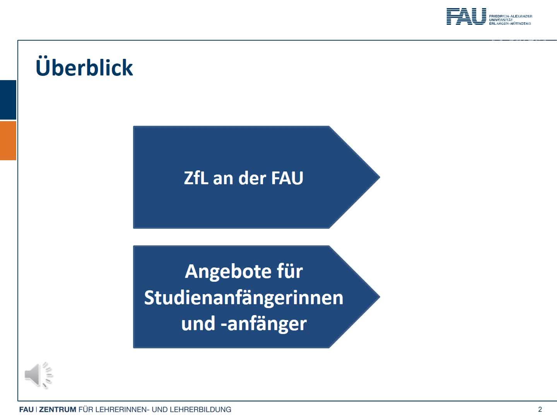 Lehramt   Gymnasium   Realschule   Willkommen an der FAU   ZfL preview image
