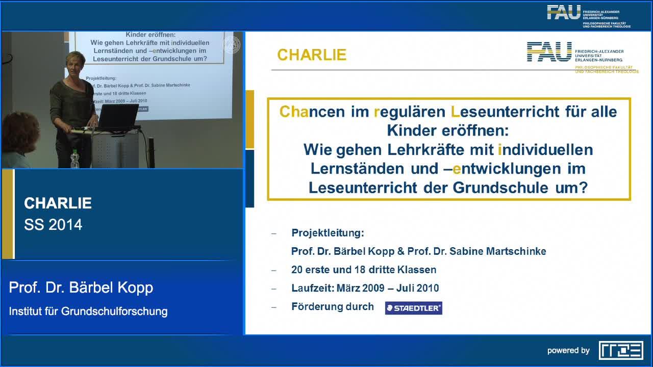 CHARLIE: Kinder mit deutscher und nicht-deutscher Familiensprache – Umgang mit migrationsbedingten Disparitäten im Unterricht der Grundschule preview image