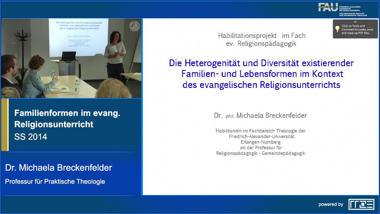 Heterogenität/Diversität existierender Familienformen im Kontext des evangelischen Religionsunterrichts preview image