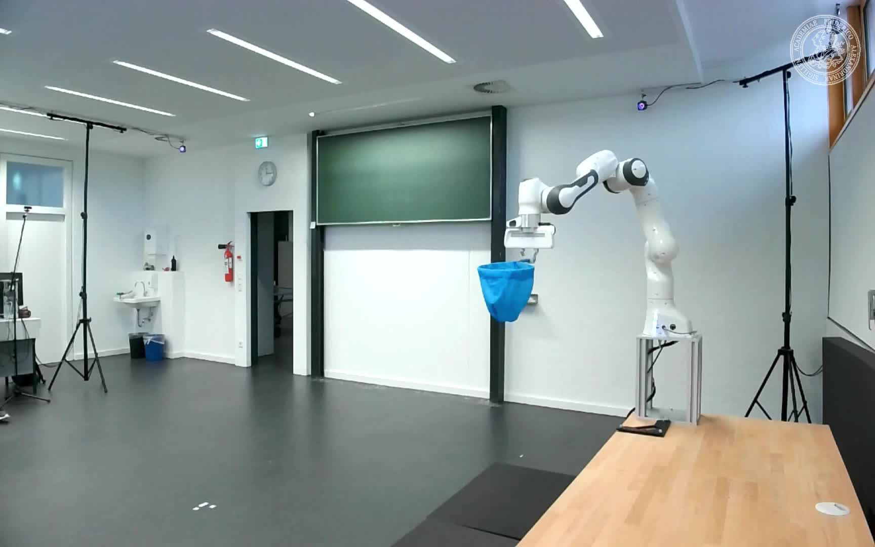 Catching Objects with a Robot Arm using Model Predictive Control preview image