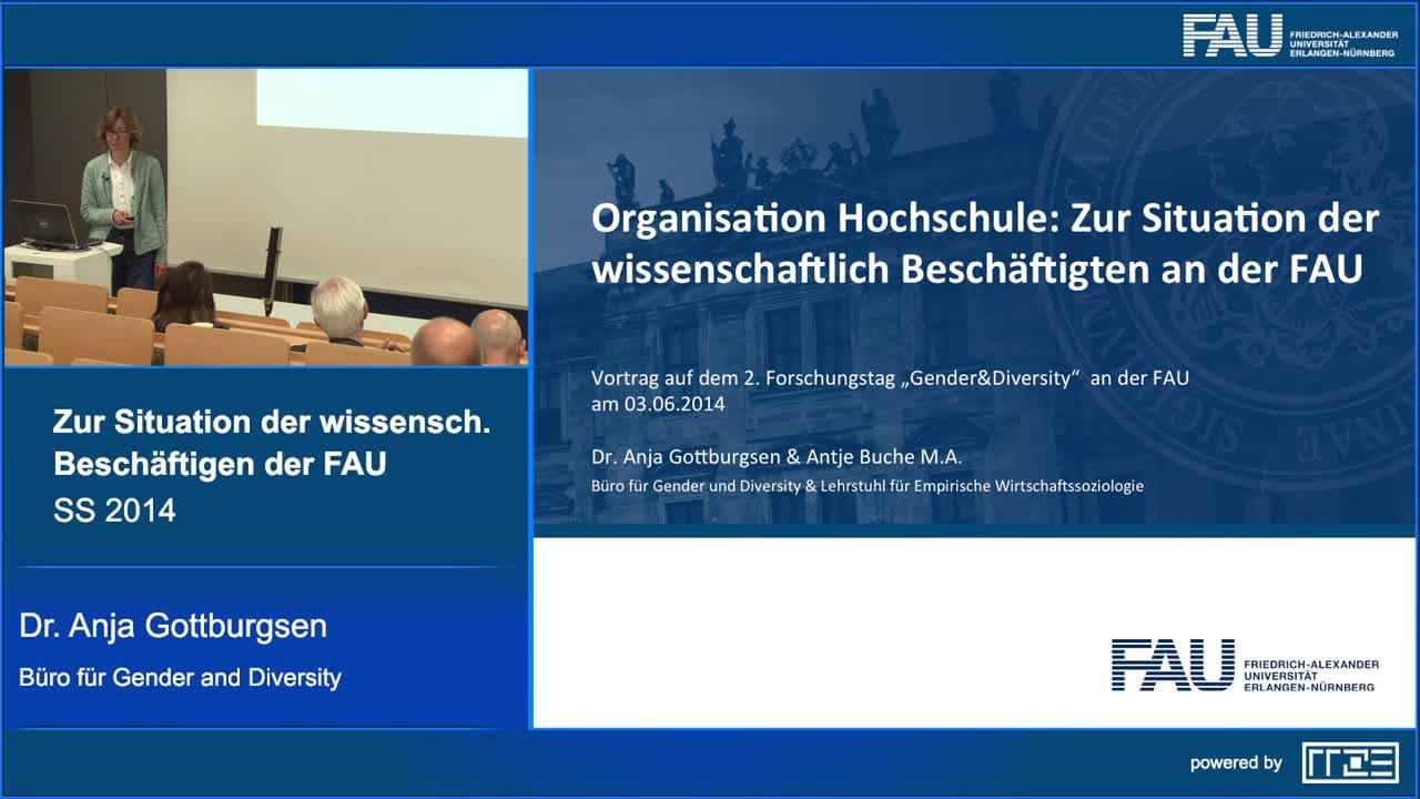 Organisation Hochschule: Zur Situation der wissenschaftlich Beschäftigten der FAU preview image