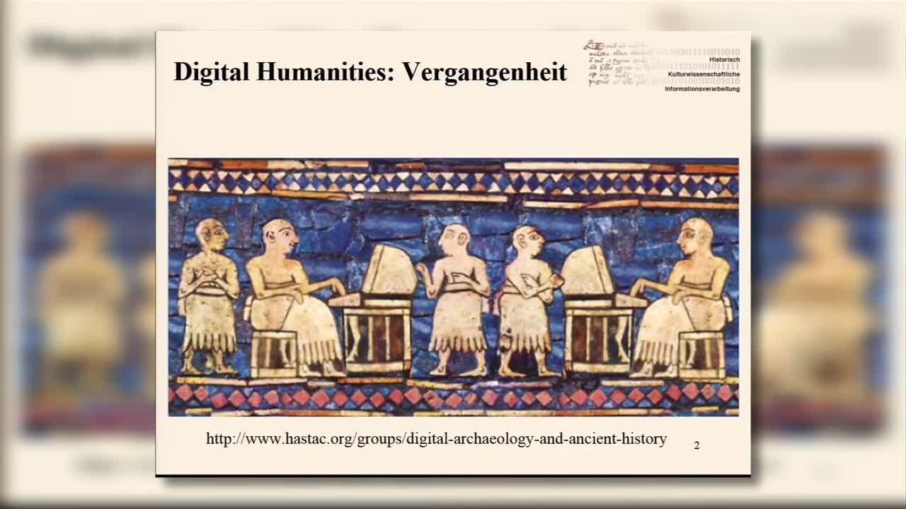 Digital Humanities: Die ersten 65 Jahre preview image