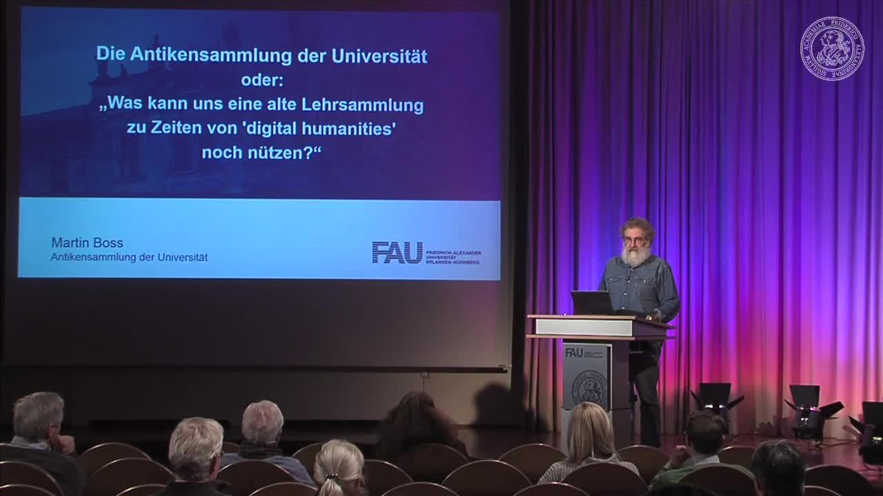Die Antikensammlung der FAU oder: Was kann uns eine alte Lehrsammlung zu Zeiten von 'digital humanities' noch nützen? preview image