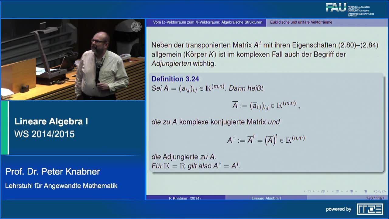 Lineare Algebra I preview image