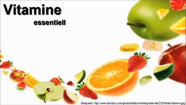 Medcast - Biochemie - wasserlösliche Vitamine preview image
