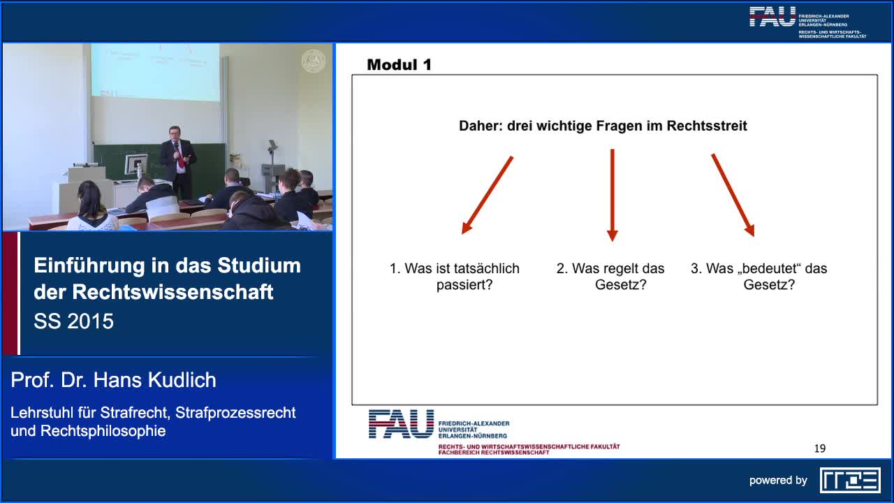 Einführung in das Studium der Rechtswissenschaft preview image