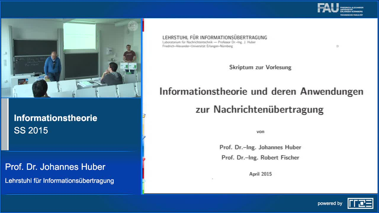 Informationstheorie preview image