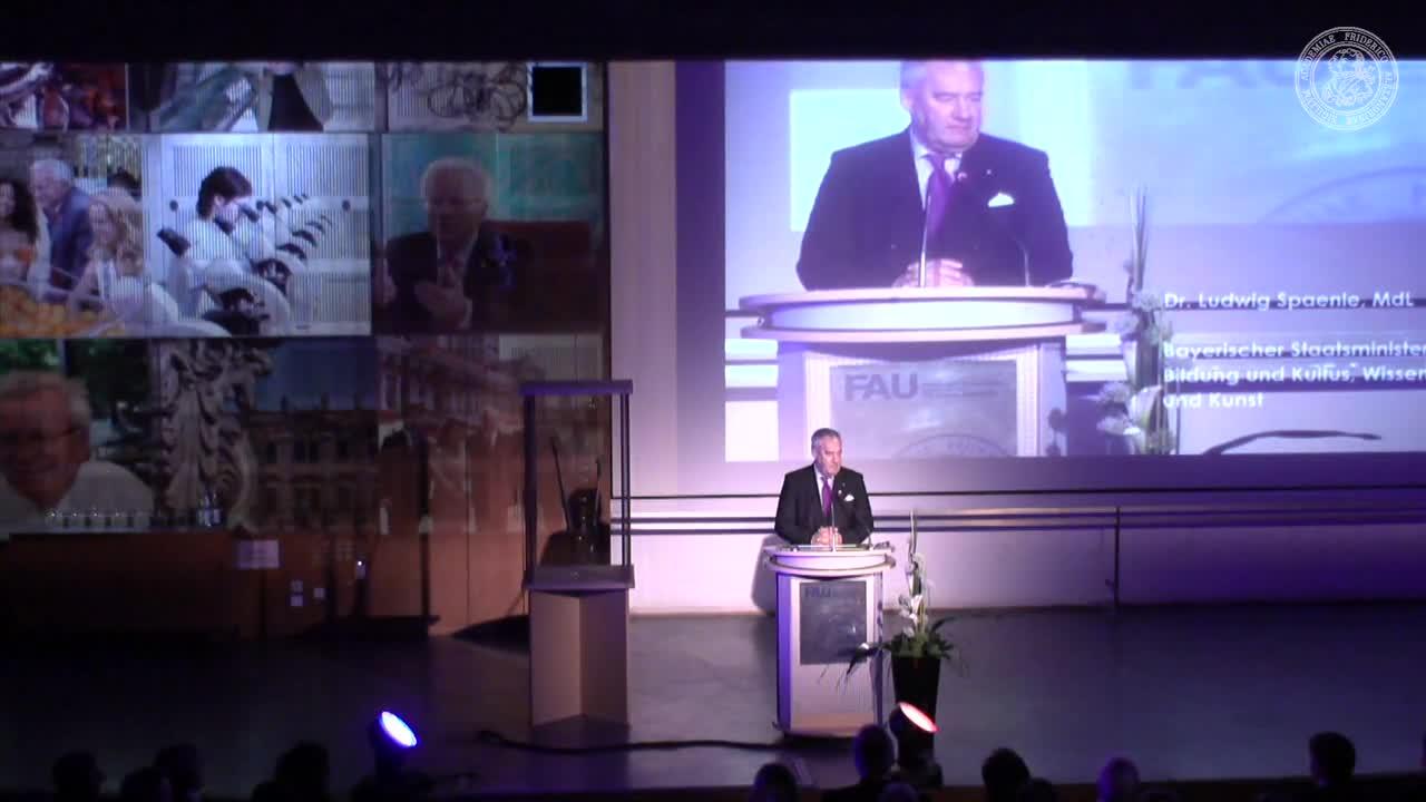 Verabschiedung und Amtsübergabe - Unipräsident preview image
