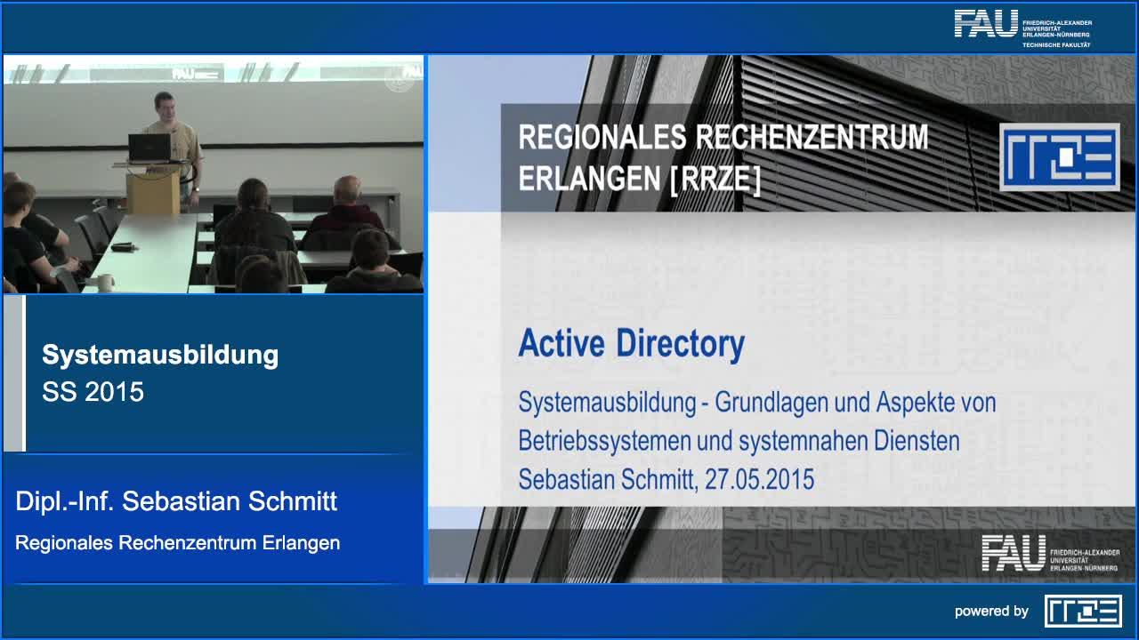 Benutzerverwaltung: MS Active Directory preview image