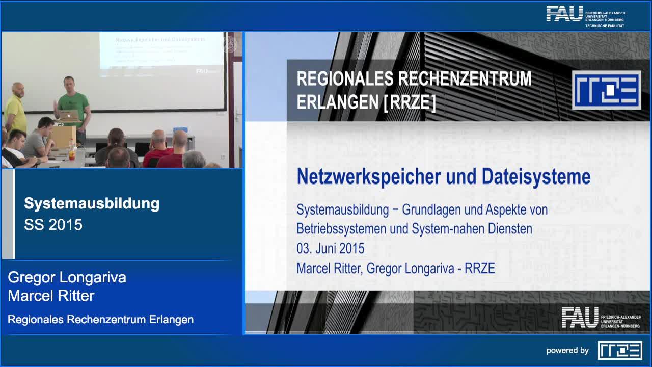 Netzwerkspeicher & Dateisysteme preview image