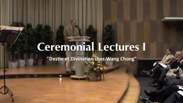 Eröffnungszeremonie des Internationalen Kollegs für Geisteswissenschaftliche Forschung: Ceremonial Lectures I - Prof. Dr. Marc Kalinowski preview image