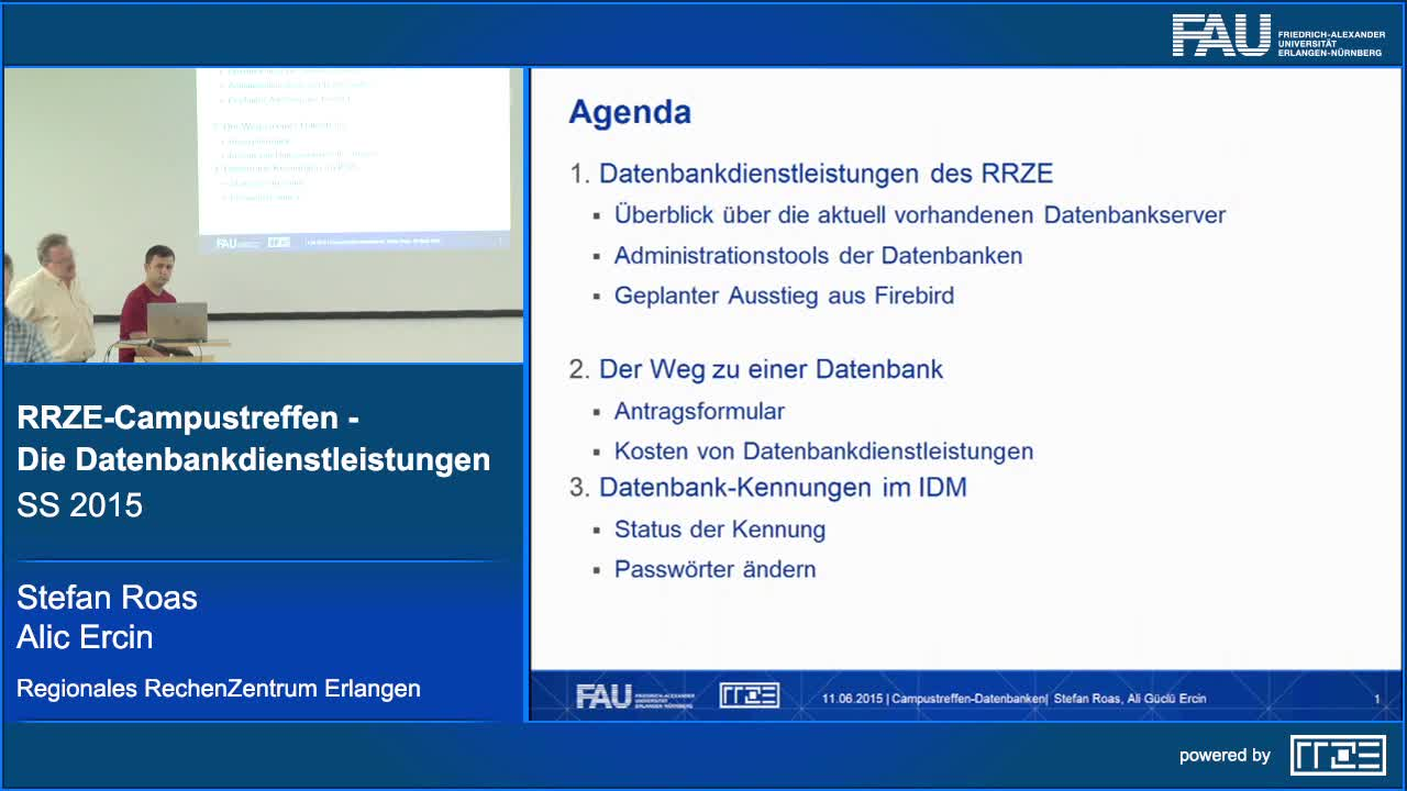 Die Datenbankdienstleistungen preview image
