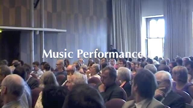 Eröffnungszeremonie des Internationalen Kollegs für Geisteswissenschaftliche Forschung: Music Performance I - Prof. Dr. Konrad Klek preview image