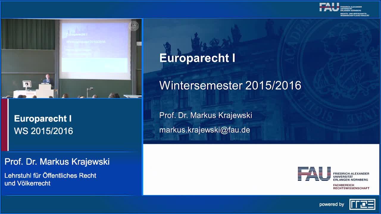 Europarecht I preview image