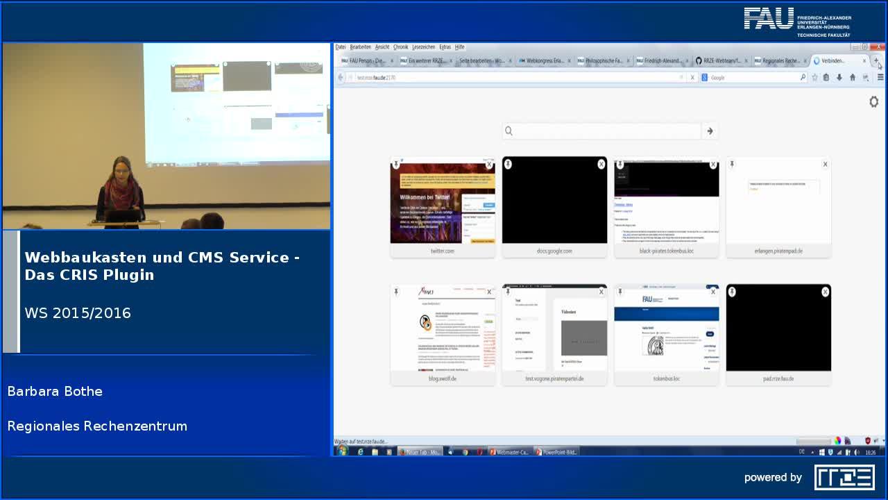 Webbaukasten und CMS Service - Das CRIS Plugin preview image