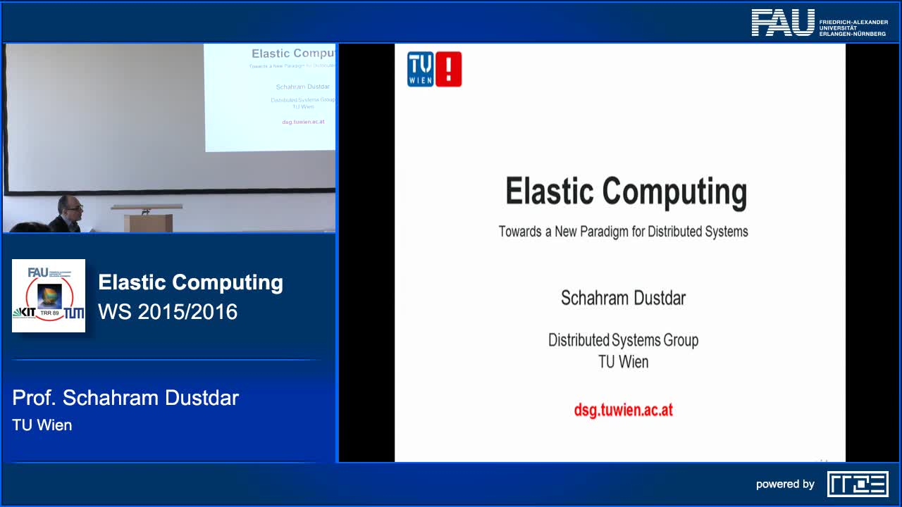 Elastic Computing - Towards a New Paradigm for Distributed Systems preview image