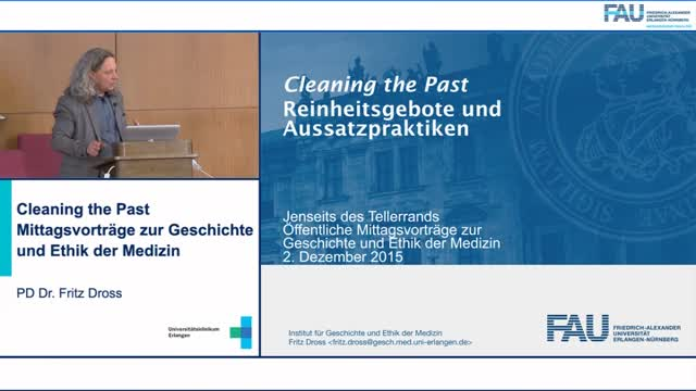 Jenseits des Tellerrands - Cleaning the Past preview image