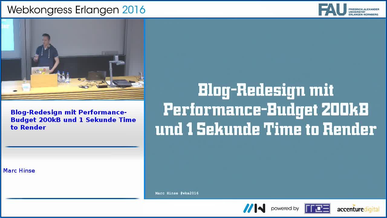 Blog-Redesign mit Performance-Budget 200kB und 1 Sekunde Time to Render preview image