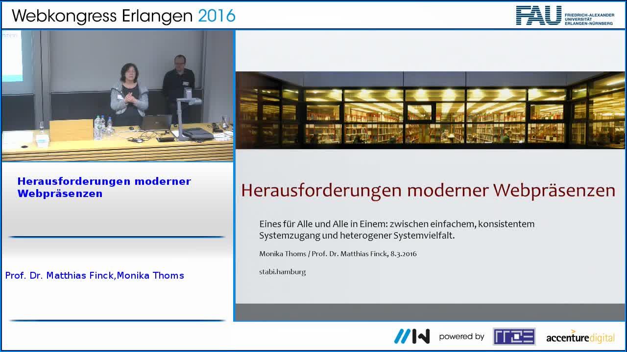 Herausforderungen moderner Webpräsenzen preview image