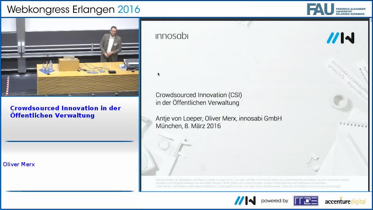 Crowdsourced Innovation in der Öffentlichen Verwaltung preview image