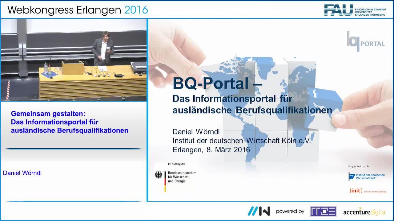 Gemeinsam gestalten: Das Informationsportal für ausländische Berufsqualifikationen preview image