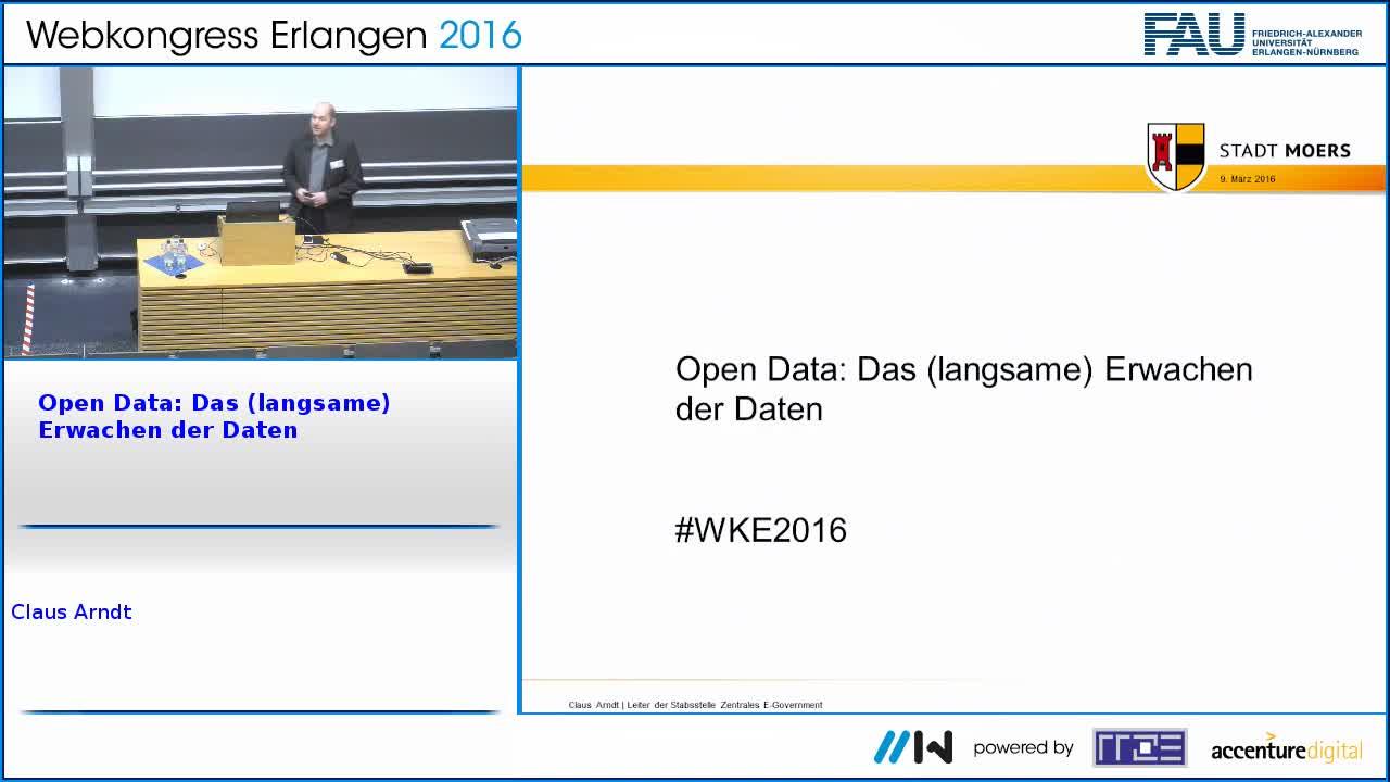 Open Data: Das (langsame) Erwachen der Daten preview image