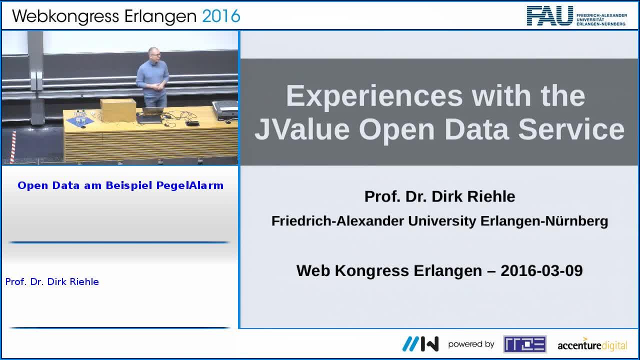 Open Data am Beispiel PegelAlarm preview image