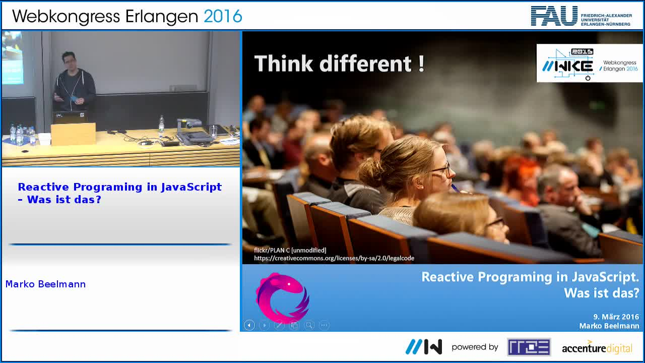 Reactive Programing in JavaScript – Was ist das? preview image