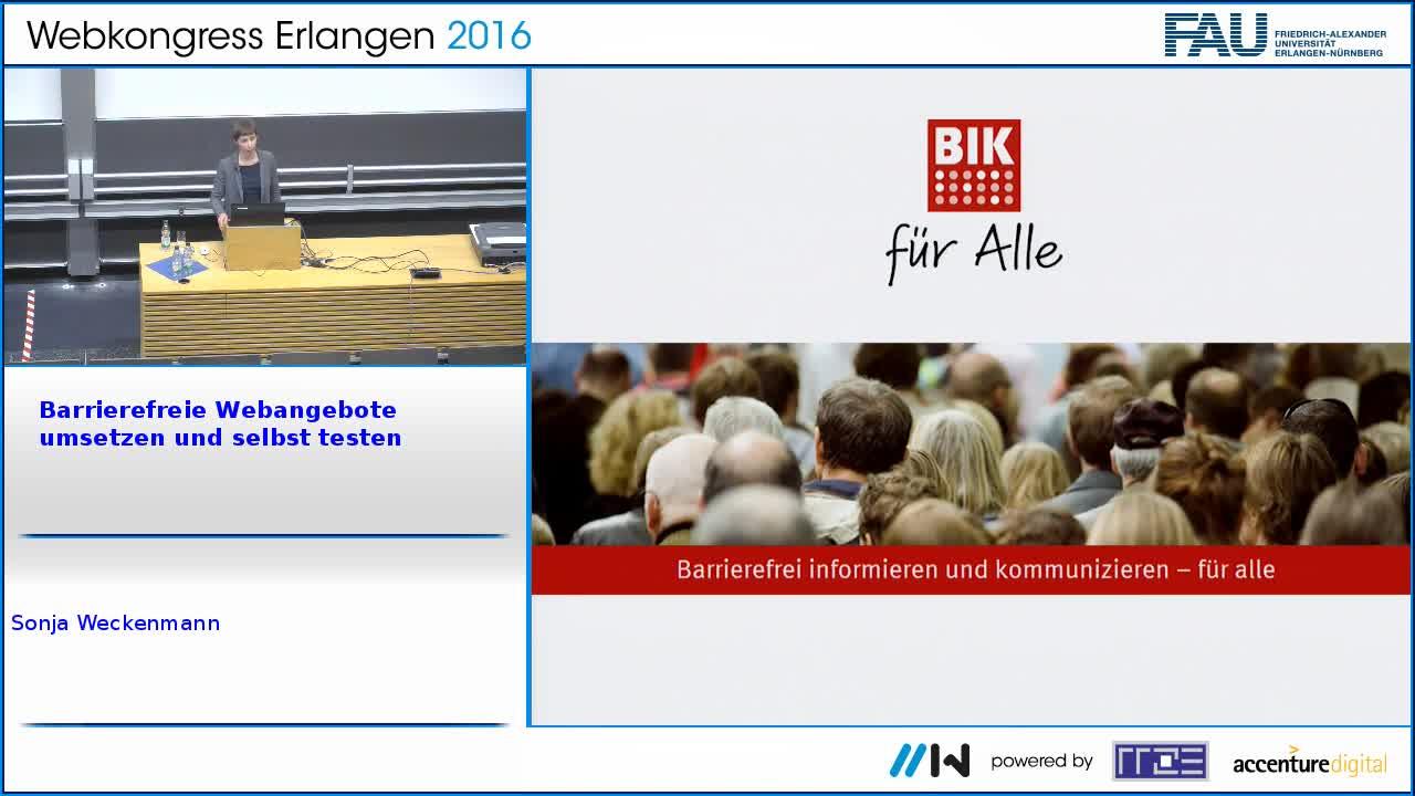 Die BITV-Selbstbewertung – Barrierefreie Webangebote umsetzen und selbst testen preview image
