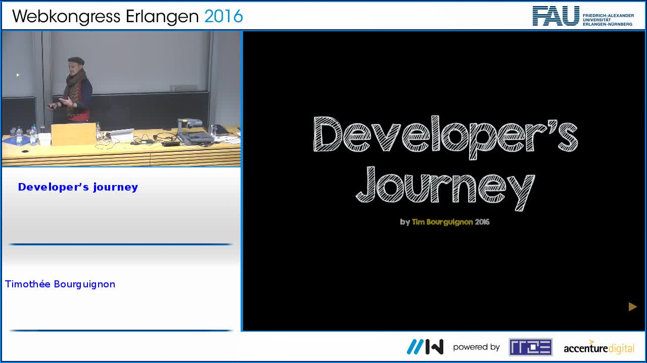 Developer's journey preview image