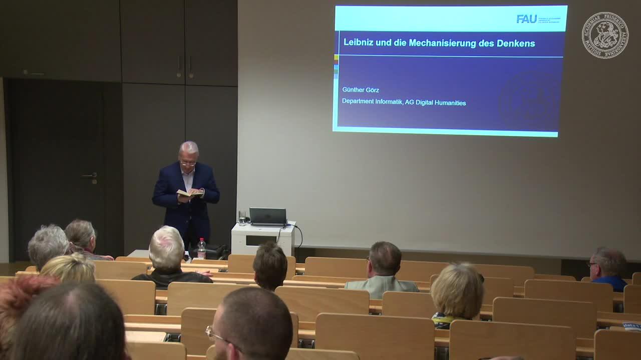 Leibniz und die Mechanisierung des Denkens preview image