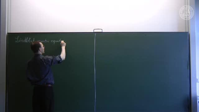 Quantum-optical phenomena in nanophysics - 10: Lindblad master equations preview image